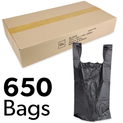 "10"" x 5"" x 19"" Heavy Duty Plastic Bags (Box of 650)"