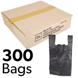 "12"" x 7"" x 22"" Plastic Bags (Box of 300)"