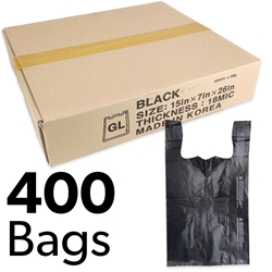 "15"" x 7"" x 26"" Plastic Bags (Box of 400)"