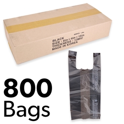 "6"" x 4"" x 15"" Plastic Bags (Box of 800)"