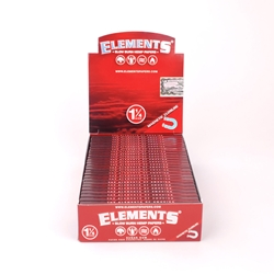 Elements Slow Burn Hemp 1 1/4 Rolling Papers (Box of 25)