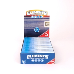 Elements Ultra Thin Rice 1 1/4 Rolling Papers (Box of 25)