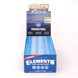 Elements Ultra Thin Rice Single Wide Rolling Papers (Box of 25)