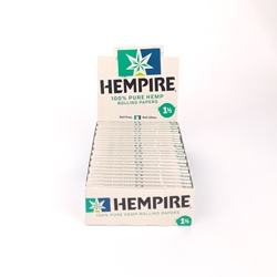 Hempire 1 1/2 Rolling Papers (Box of 24)