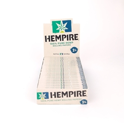 Hempire 1 1/4 Rolling Papers (Box of 24)