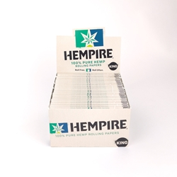 Hempire King Rolling Papers (Box of 50)