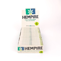 Hempire Single-Size (1) Rolling Papers (Box of 24)
