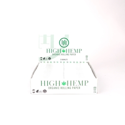 High Hemp King Slim Rolling Papers (Box of 25)