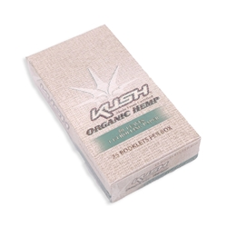 Kush Organic Hemp 1 1/4 Rolling Papers (Box of 25)
