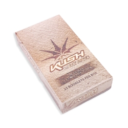 Kush Ultra-Fine Rice 1 1/4 Rolling Papers (Box of 25)