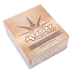Kush Ultra-Fine Rice King Slim Rolling Papers (Box of 50)