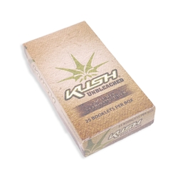 Kush Unbleached 1 1/4 Rolling Papers (Box of 25)