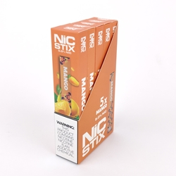 NiC Stix Mango Disposable Vapes (Box of 5)