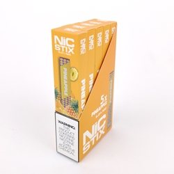 NiC Stix Pineapple Disposable Vapes (Box of 5)