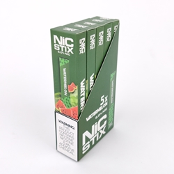 NiC Stix Watermelon Disposable Vapes (Box of 5)