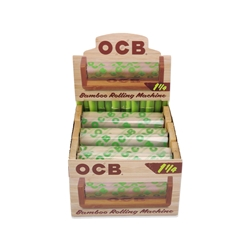 OCB Bamboo 1 1/4 Cigarette Hand Rollers (Box of 6)