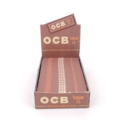 OCB Virgin 1 1/4 Rolling Papers (Box of 24)