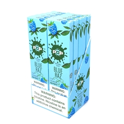 POP Blue Raz Disposable Vapes (Box of 10)