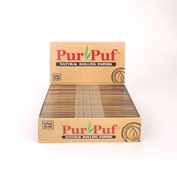 PurPuf King Slim Rolling Papers (Box of 24)