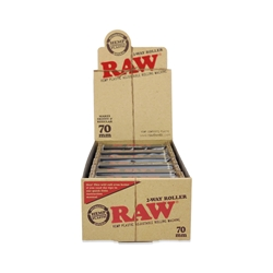 Raw 70mm 2-Way Cigarette Hand Rollers (Box of 12)