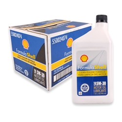 Shell SAE 5W-30 Motor Oil (Box of 12)