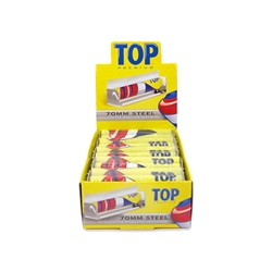 Top 70mm Steel Power-Roll Cigarette Hand Rollers (Box of 10)
