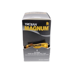 Trojan Magnum Condoms (Box of 48)