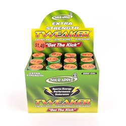 Tweaker Extra Strength Sour Apple Energy Shots (Box of 12)