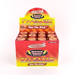 Tweaker Strawberry Lemonade Energy Shots (Box of 12)