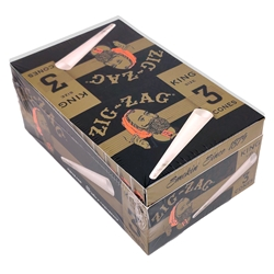 Zig-Zag King Size Pre-Rolled Cones (Box of 24 Packs)